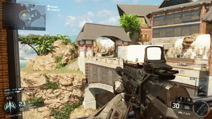 Call of Duty Black Ops 3 campain