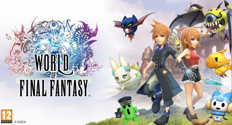 World of Final Fantasy Day One Edition cover