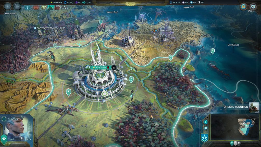 Age of Wonders Planetfall Deluxe Edition gameplay