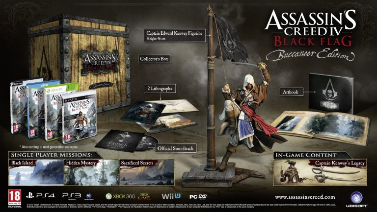 Assassin's Creed IV Black Flag cover