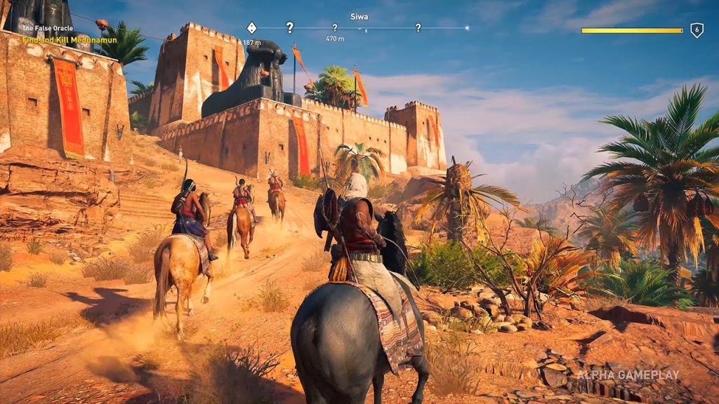 Assassin's Creed Origins gameplay