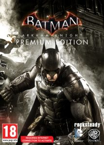 Batman Arkham Knight Premium Edition cover