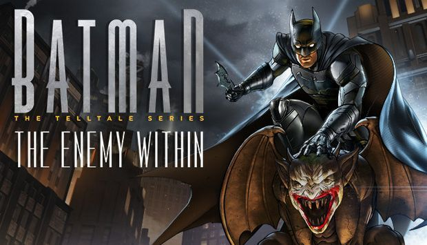 Batman The Enemy Within The Telltale Series Shadows Edition