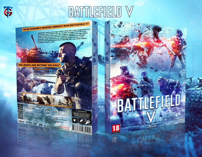 Battlefield V cover box