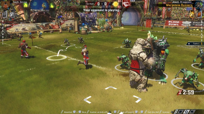 Blood Bowl 2 Legendary Edition gameplay2