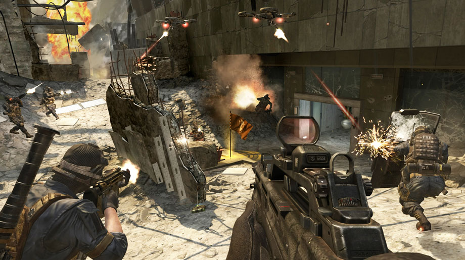 Call of Duty Black Ops 2 gameplay