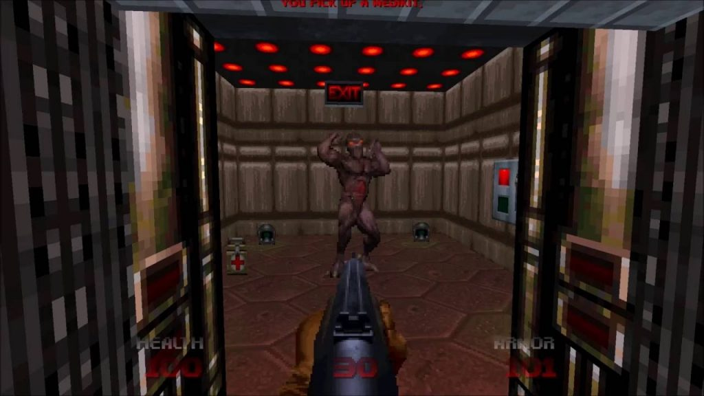 DOOM 64 gameplay