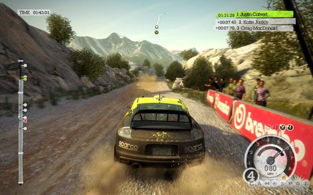 DiRT Rally 2 Game of the Year Edition gameplay