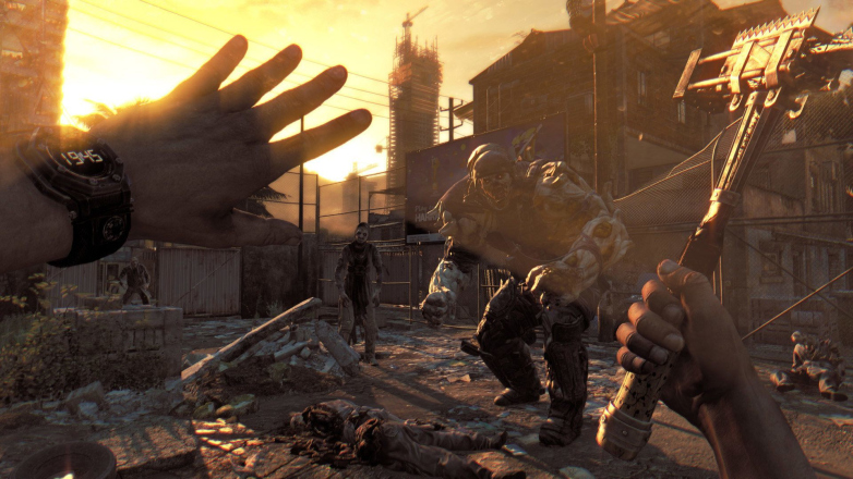 Dying Light The Following Enhanced Edition gameplay