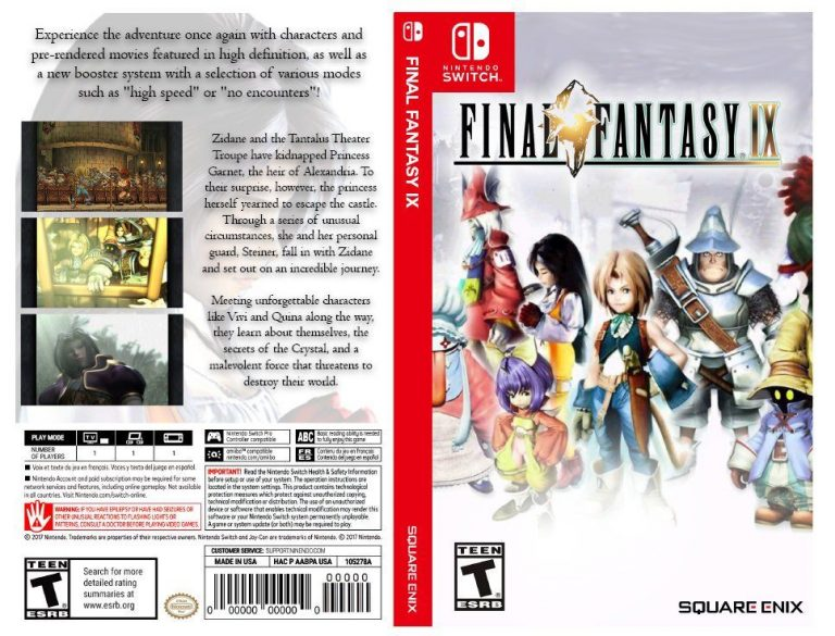 FINAL FANTASY IX cover