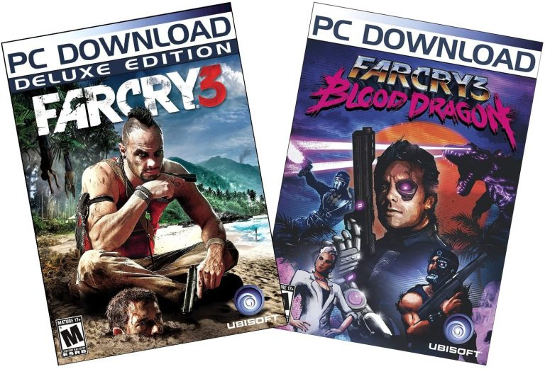 Far Cry 3 Digital Deluxe Edition Blood Dragon cover