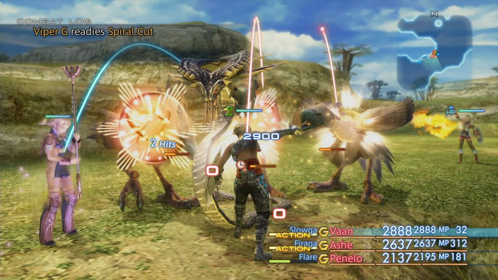 Final Fantasy XII The Zodiac Age gameplay