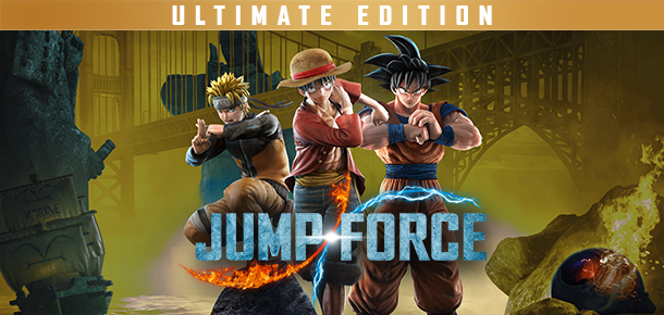 JUMP FORCE Ultimate Edition cover
