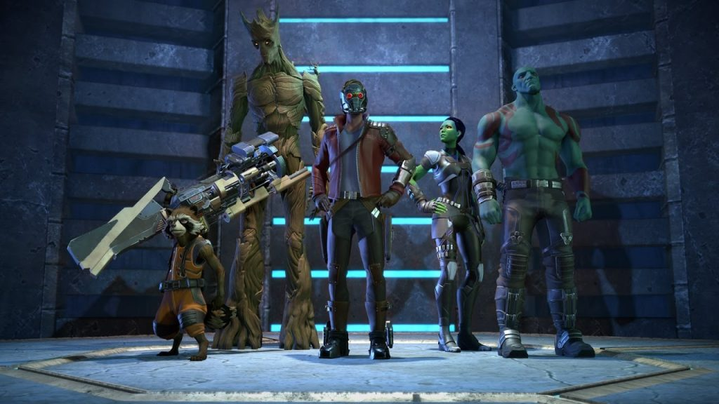 Marvel's Guardians of the Galaxy The Telltale Series gameplay