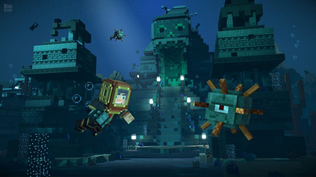 Minecraft Story Mode Season 2 The Telltale Series gameplay