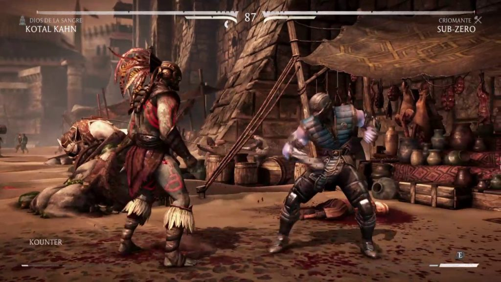 Mortal Kombat XL gameplay