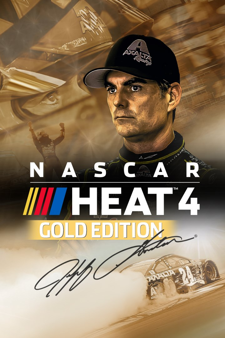 NASCAR Heat 4 : Gold Edition