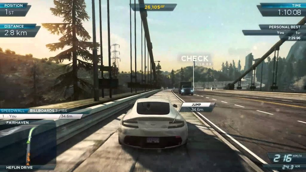 Need for Speed Most Wanted Limited Edition gameplay