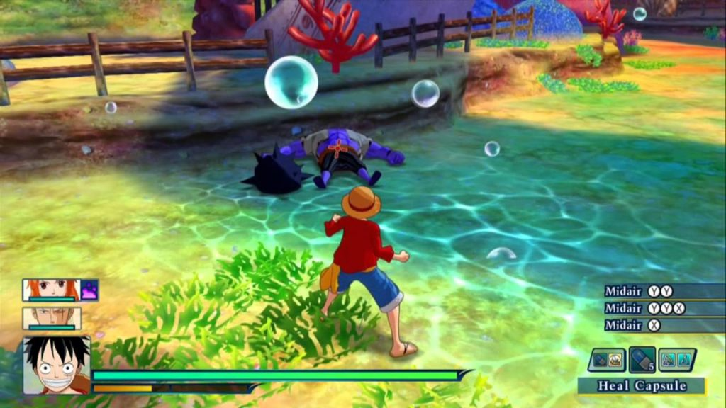 One Piece Unlimited World Red Deluxe Edition gameplay