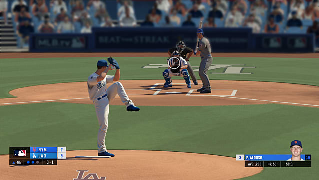 RBI Baseball 20 gameplay