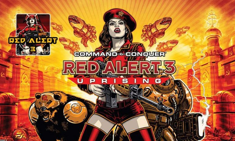 Red Alert 3 Uprising cover