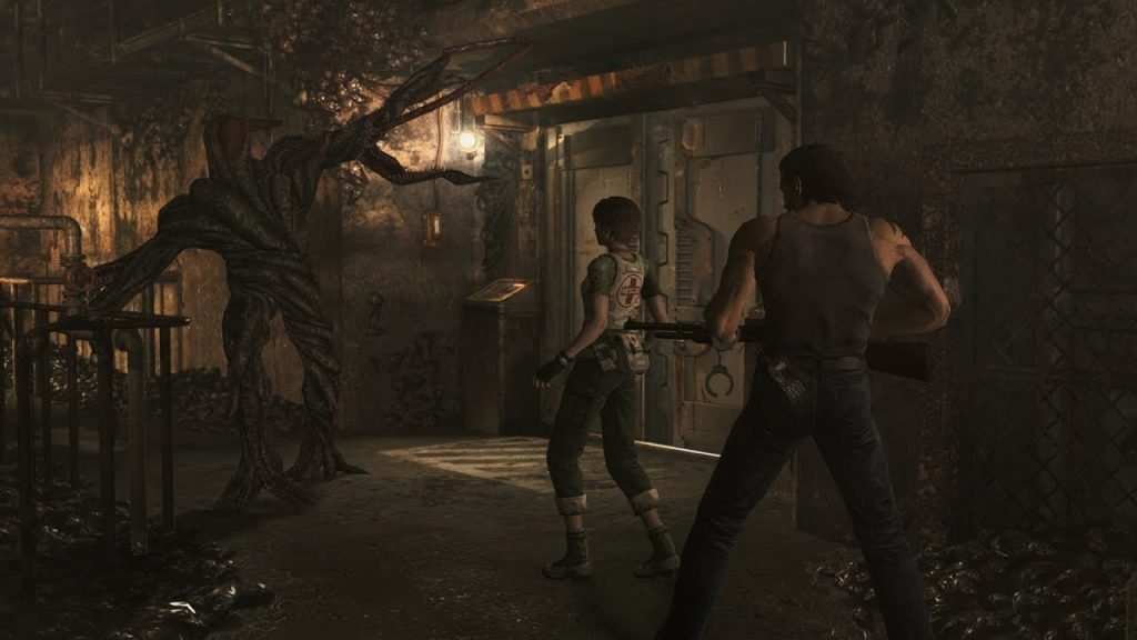 Resident Evil Zero HD Remaster gameplay