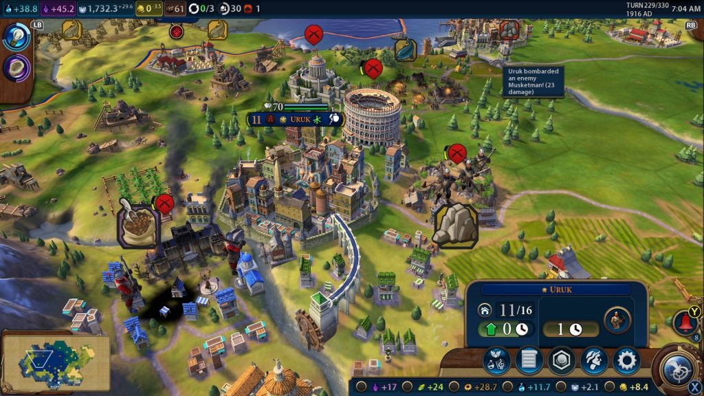 Sid Meier's Civilization 6 gameplay