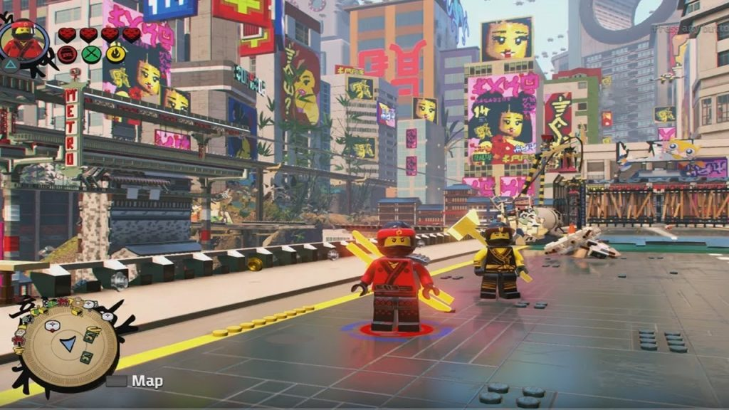The LEGO Ninjago Movie – Video Game gameplay