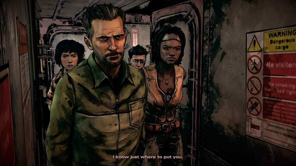The Walking Dead The Telltale Definitive Series gameplay