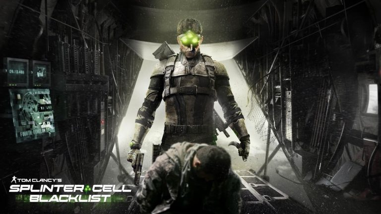 Tom Clancy's Splinter Cell Blacklist cover2