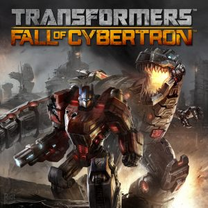 Transformers Fall of Cybertron cover1