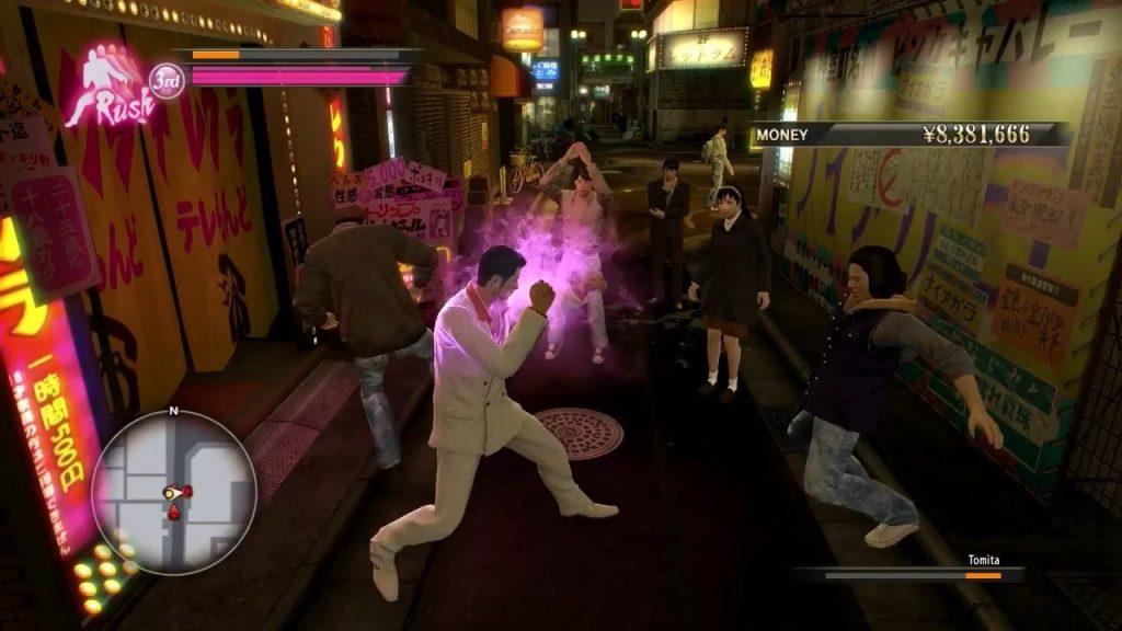 Yakuza 0 gameplay