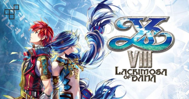 Ys VIII Lacrimosa of Dana cover