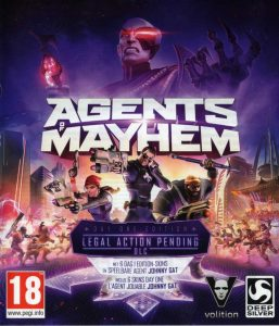 Agents of Mayhem cover