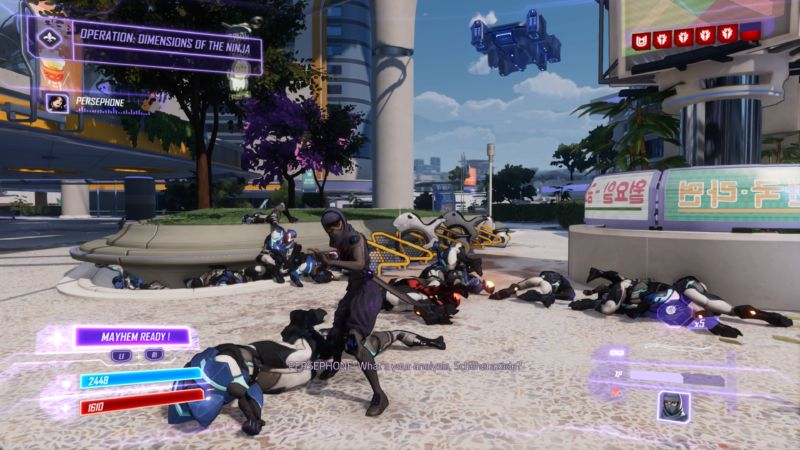 Agents of Mayhem gameplay