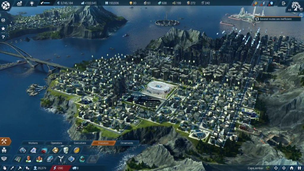 Anno 2205 Gold Edition gameplay