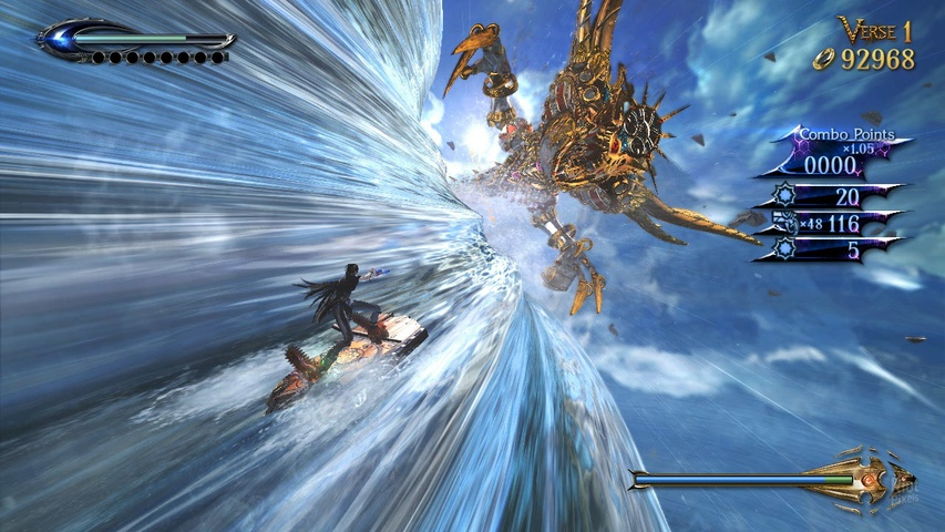 Bayonetta 2 gameplay