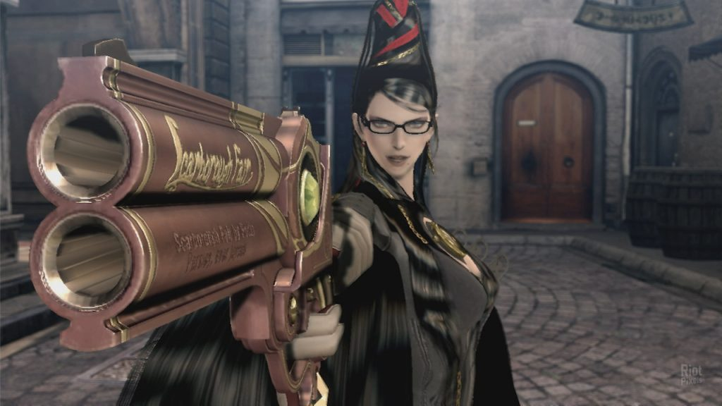 Bayonetta gameplay1