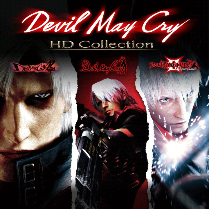 Devil May Cry 1,2,3 HD Collection