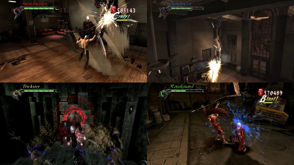 Devil May Cry HD Collection gameplay4