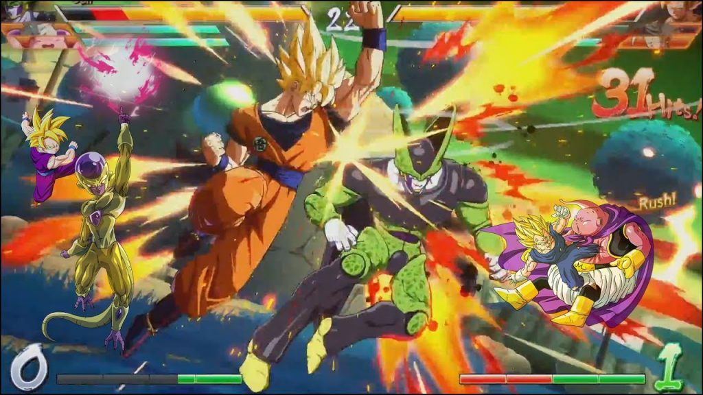 Dragon Ball FighterZ gameplay2