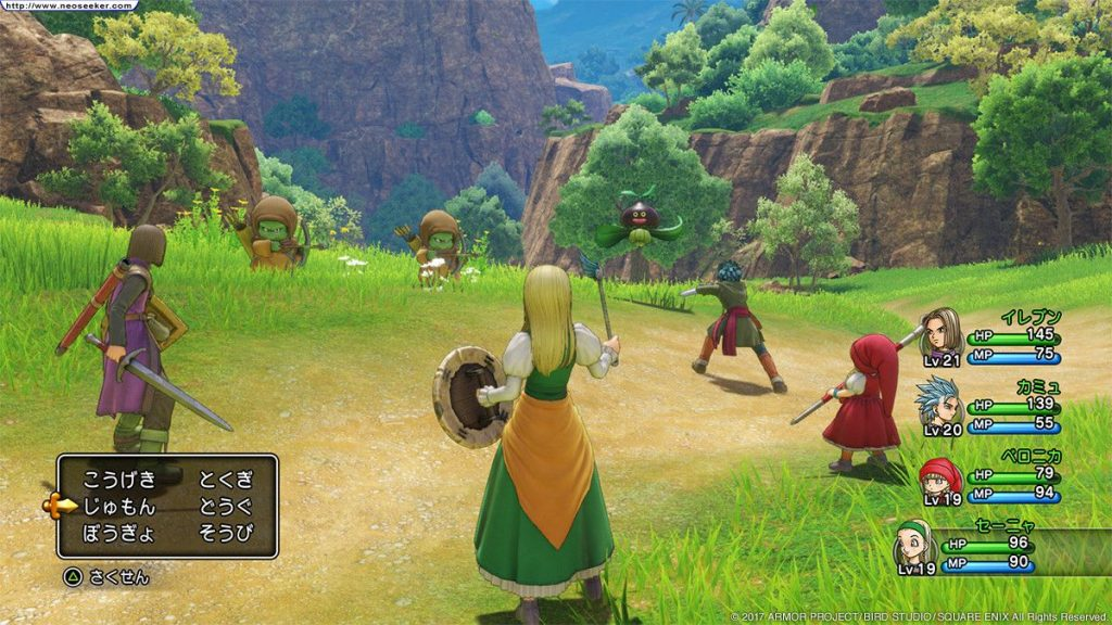 Dragon Quest XI Echoes of an Elusive Age gameplay