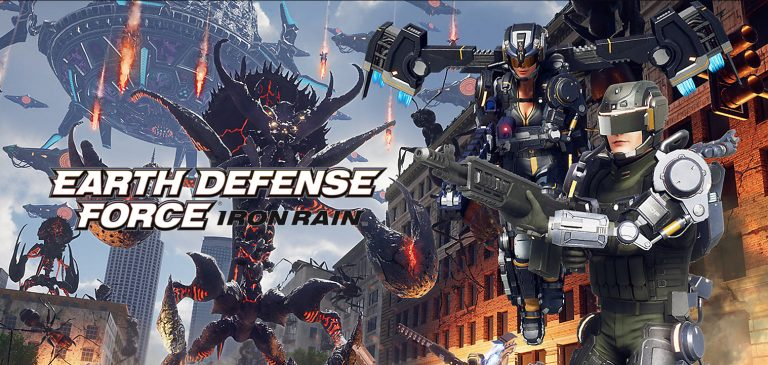 Earth Defense Force Iron Rain cover1