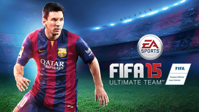 FIFA 15 Ultimate Team Edition cover