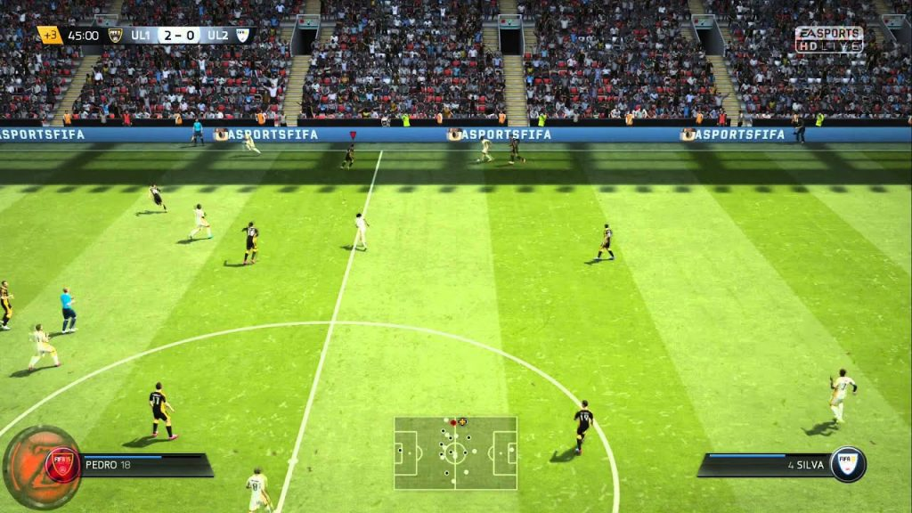FIFA 15 Ultimate Team Edition gameplay