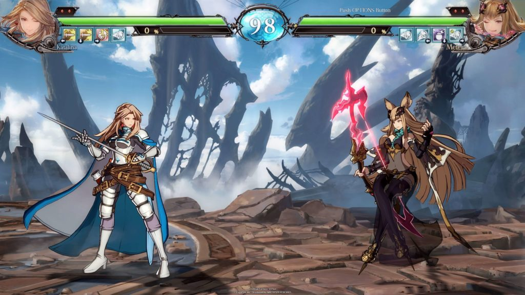 Granblue Fantasy Versus gameplay