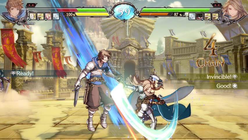 Granblue Fantasy Versus gameplay2