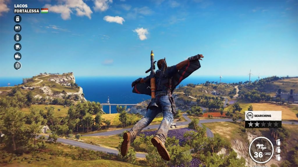 Just Cause 4 gameplay