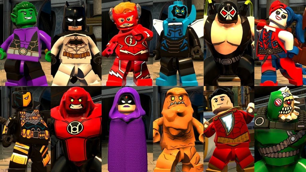 LEGO DC Super-Villains gameplay2