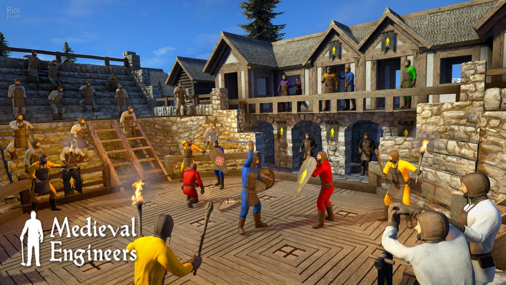 Medieval Engineers gameplay